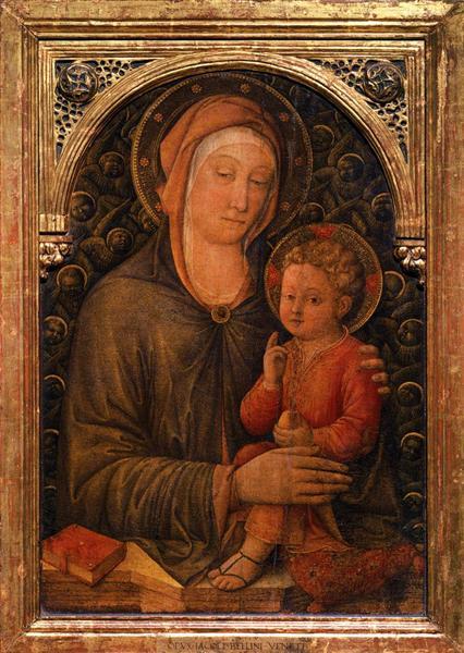 Virgin with Child, c.1455 - Jacopo Bellini