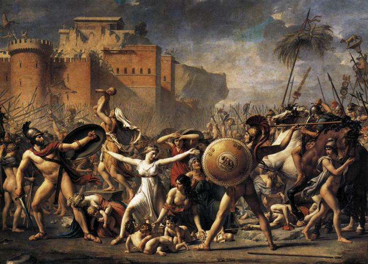 The Sabine Women, 1799 - Jacques-Louis David