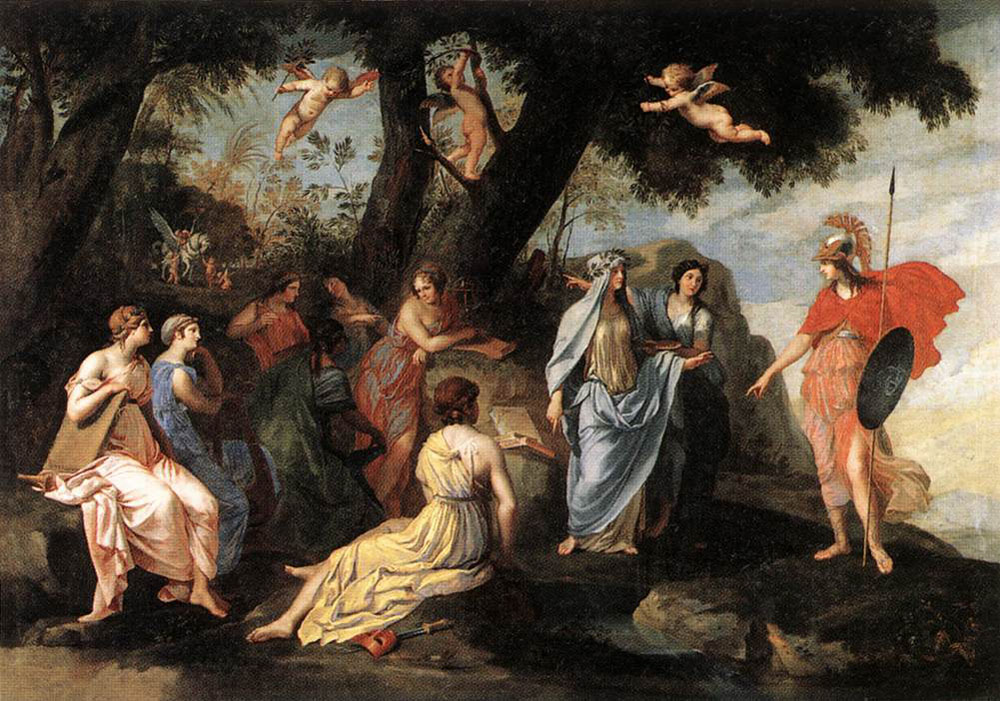 https://uploads3.wikiart.org/images/jacques-stella/minerva-with-the-muses-1645.jpg