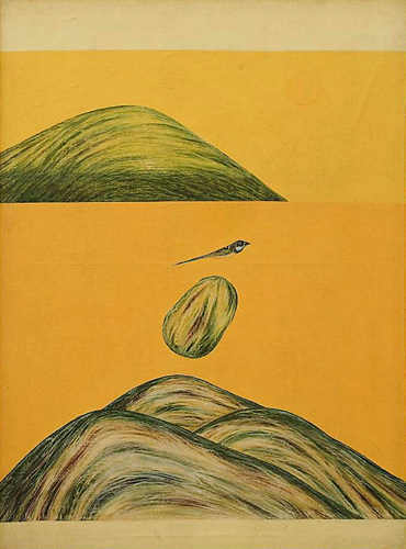 Untitled, 1975 - Jagdish Swaminathan