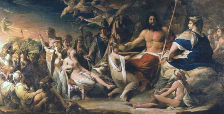 The Birth of Pandora - James Barry