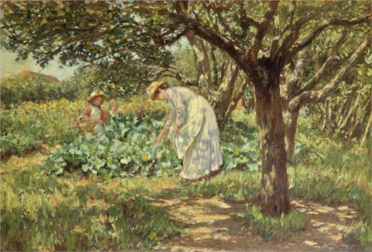 In the Garden, 1904 - James Charles