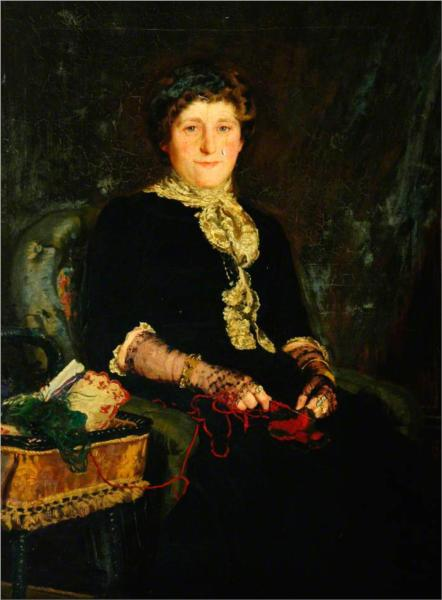 Mrs Rufus Mitchell - James Charles