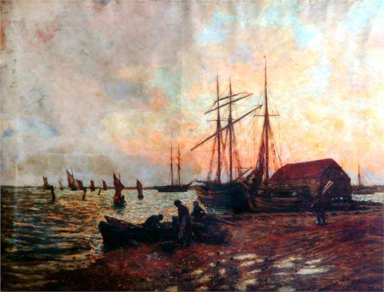 Return of the Boat, Shoreham - James Charles