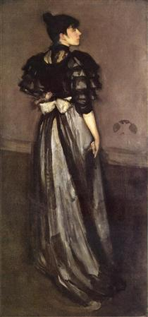 Mother of Pearl and Silver: The Andalusian - James McNeill Whistler