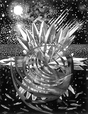Welcome to the Water Planet, 1987 - James Rosenquist