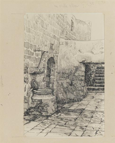 An Old Cistern, 1886 - 1889 - James Tissot
