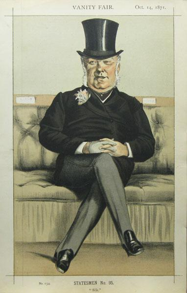 Caricature of Henry William Eaton M.P., 1871 - James Tissot