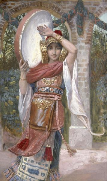 Jephthah's Daughter, c.1896 - c.1902 - James Tissot