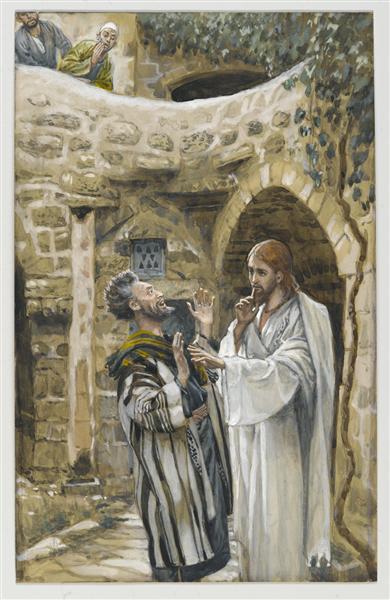 Jesus Heals a Mute Possessed Man - Джеймс Тиссо