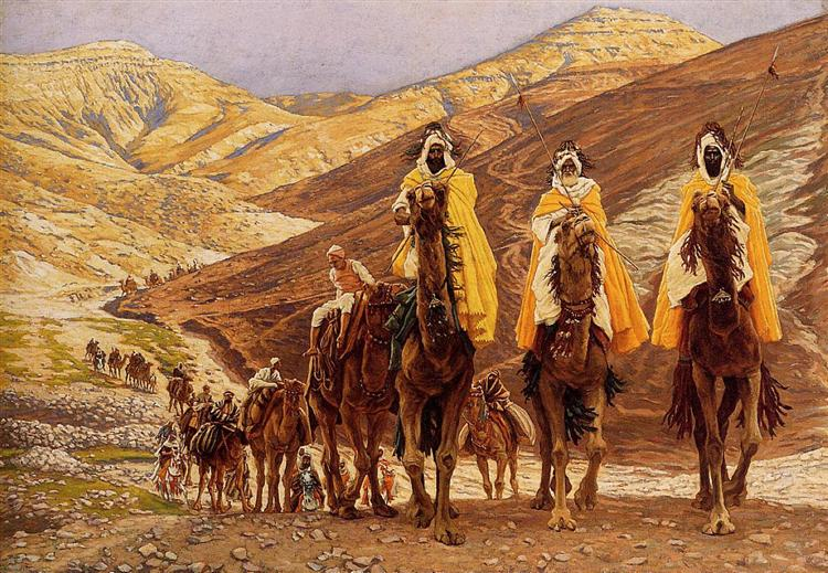 Journey of the Magi, c.1894 - Джеймс Тіссо