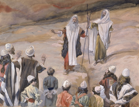 Moses Forbids the People to Follow Him, c.1896 - c.1902 - James Tissot