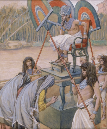 Pharaoh and the Midwives, c.1896 - c.1902 - James Tissot