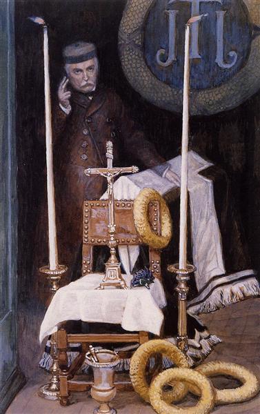 Portrait of the Pilgrim, 1886 - 1894 - James Tissot