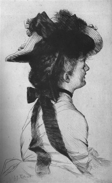 Rubens Hat - James Tissot