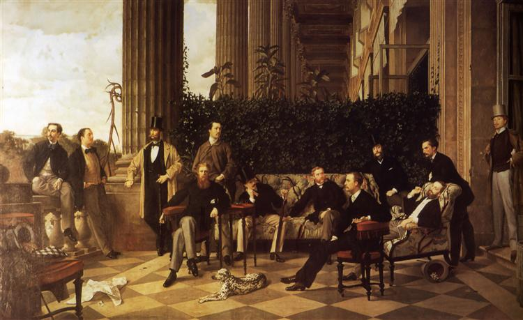 The Circle of the Rue Royale, 1868 - James Tissot
