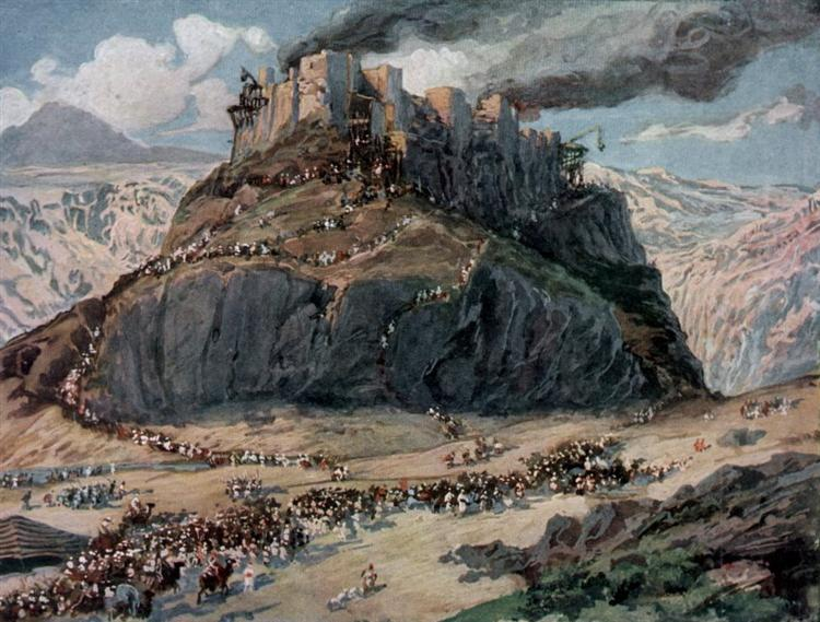The Conquest of the Amorites, c.1902 - James Tissot