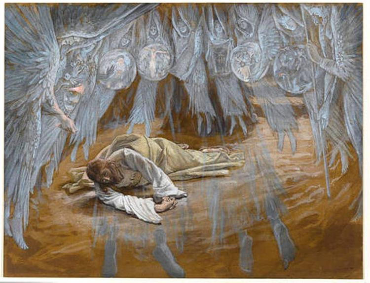 The Grotto of the Agony, 1886 - 1894 - James Tissot