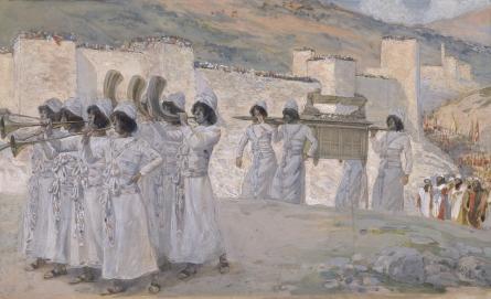 The Seven Trumpets of Jericho, c.1896 - c.1902 - James Tissot