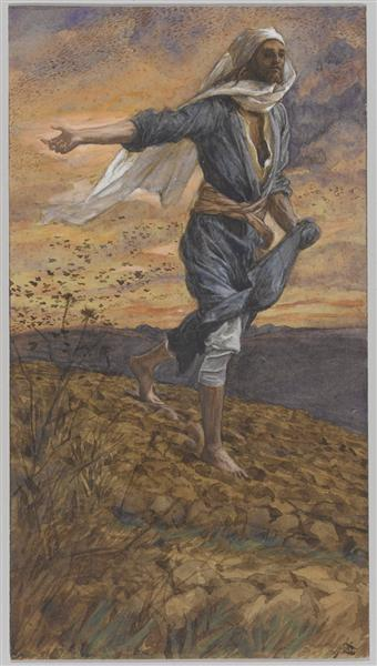 The Sower, c.1894 - James Tissot