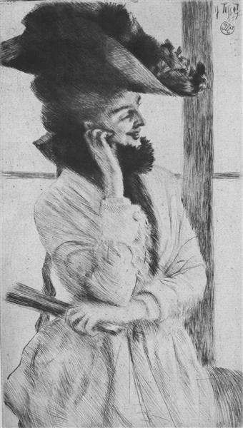 The Window - James Tissot