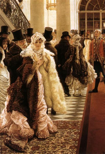The Woman of Fashion (La Mondaine), 1883 - 1885 - James Tissot