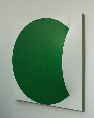Closing the Gap Once (green), 2011 - Ян Маартен Воскул