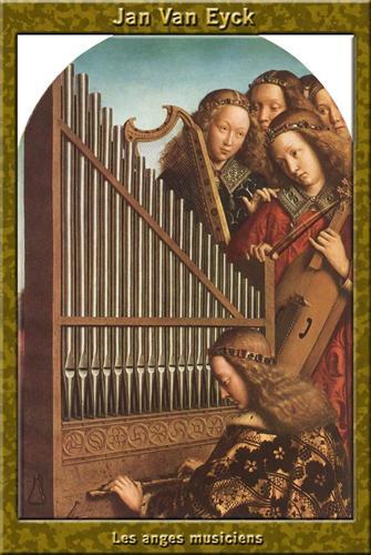 The Ghent Altar (detail) - Jan van Eyck