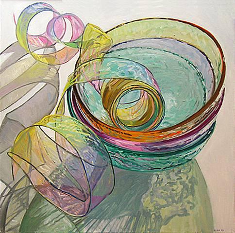 Orange Pink Green, 2003 - Janet Fish