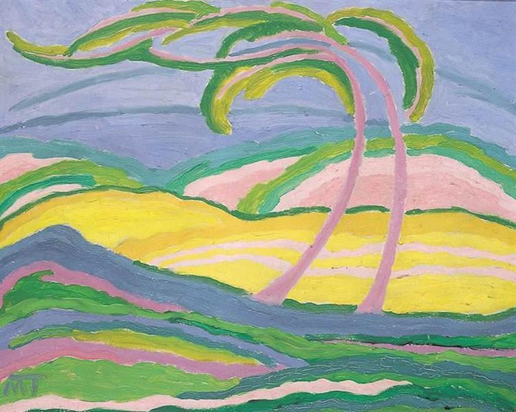 Light Landscape, 1917 - Янош Маттис-Теуч