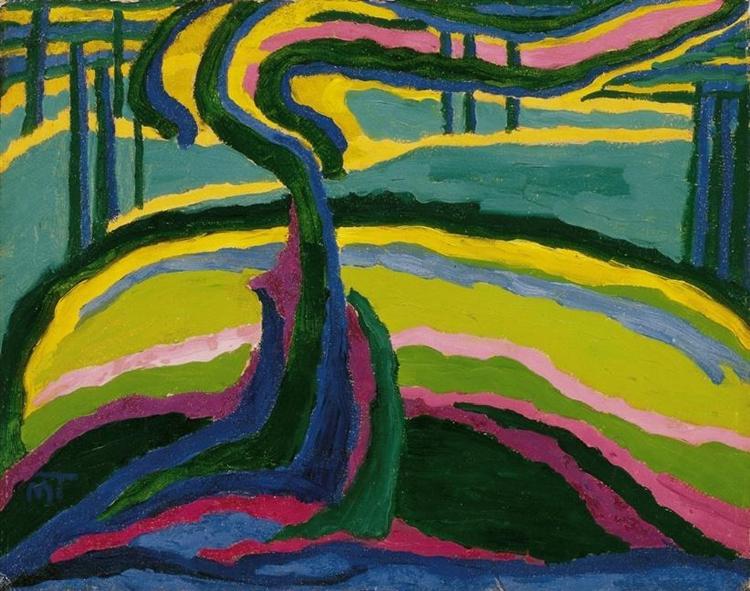 Spring, 1909 - Janos Mattis-Teutsch