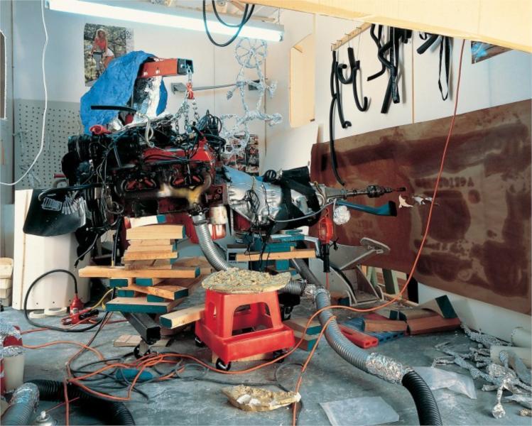 Garage Renovation New York (Cherry Makita), 1993 - Jason Rhoades