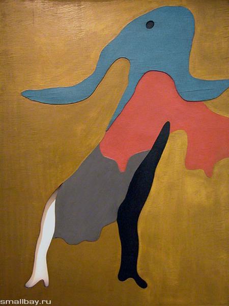 Dance, 1925 - Жан Арп