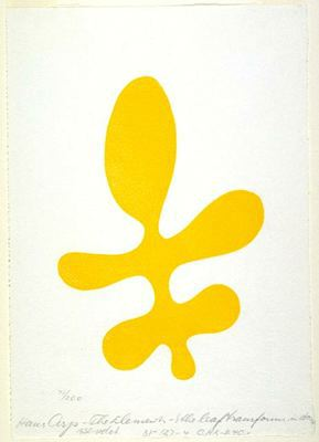 The Elements: Leaf transformed into a torso - Jean Arp