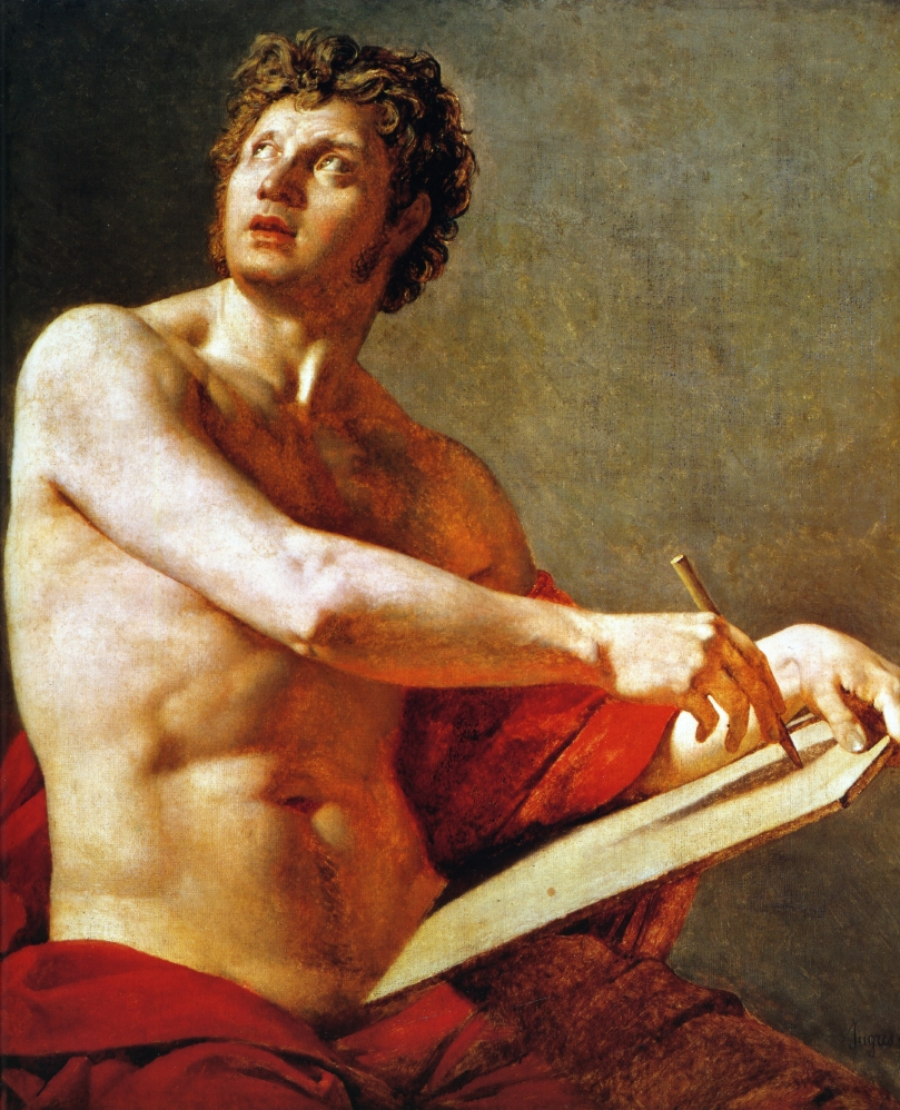 Academic Study of a Male Torse, 1801