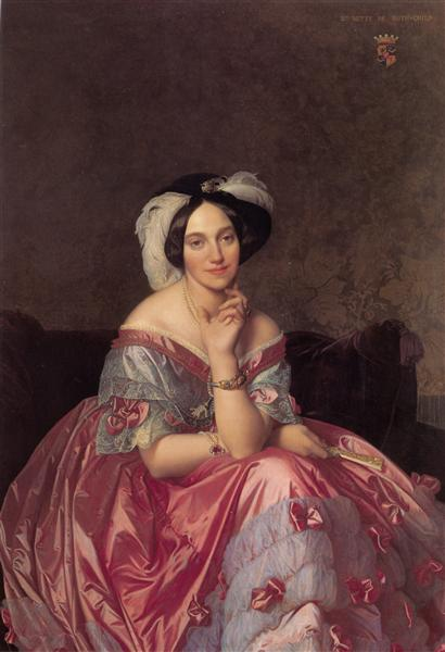 Baronne de Rothschild, 1848 - Jean-Auguste-Dominique Ingres