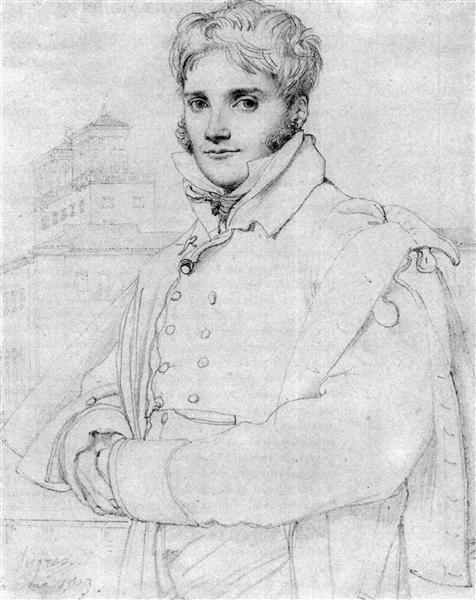 Merry Joseph Blondel - Jean Auguste Dominique Ingres