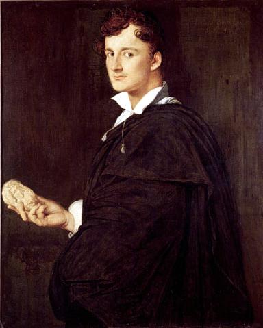 Portrait of Bartolini, 1806 - Jean Auguste Dominique Ingres