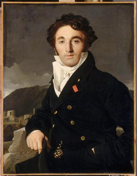 Portrait of Charles-Joseph-Laurent Cordier, 1811 - Jean Auguste Dominique Ingres