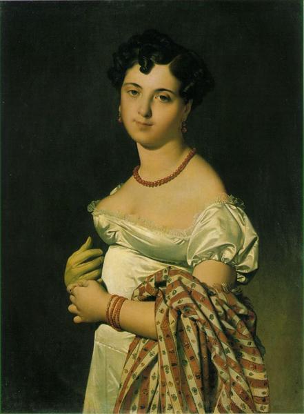 Portrait of Madame Panckoucke, 1811 - Jean Auguste Dominique Ingres