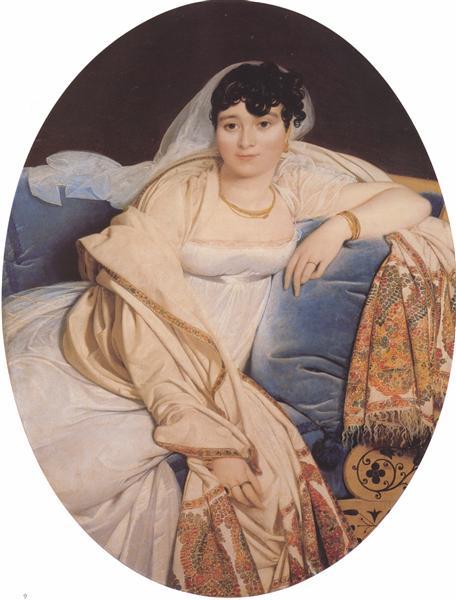 Madame Rivière, c.1805 - c.1806 - Jean-Auguste-Dominique Ingres