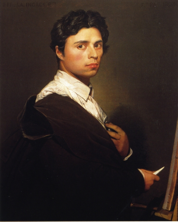 Self-Portrait at the Age of 24, 1804