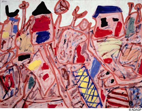 Successful campaign, 1975 - Жан Дюбюффе