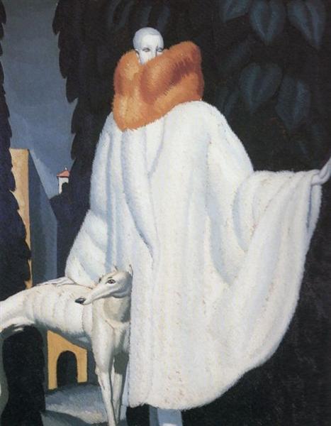 Woman with Stole, 1929 - Jean Dupas