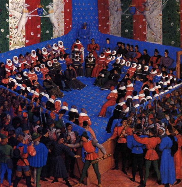 Cases of noble men and women, c.1460 - Jean Fouquet