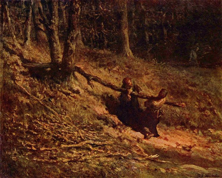 Brushwood collectors - Jean-Francois Millet