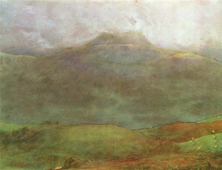 Puy de Dôme, c.1870 - Jean-Francois Millet