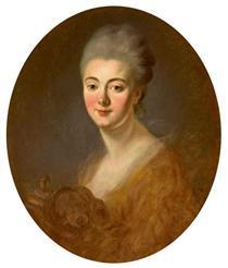 Portrait of Elisabeth Sophie Constance de Lowendhal - Jean-Honore Fragonard
