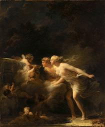 The Fountain of Love - Jean-Honore Fragonard