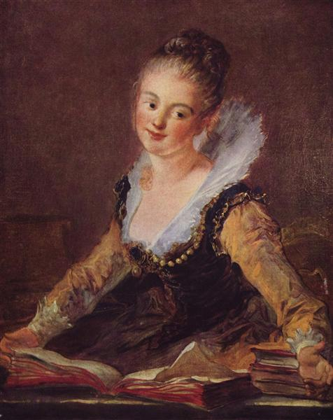 The Reader - Jean-Honoré Fragonard